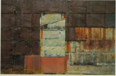 William Christenberry, 'Side of Warehouse, Newbern, Alabama', 1990-printed 1993