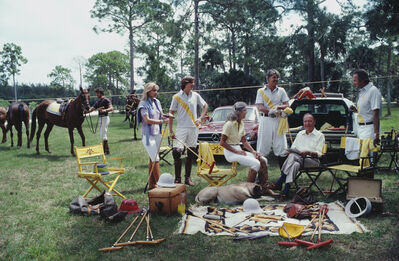Slim Aarons, 'Polo Party', 1981