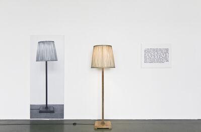 Joseph Kosuth, 'One and Three Lamps', 1965