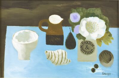 Mary Fedden, 'The Blue Table', 1975