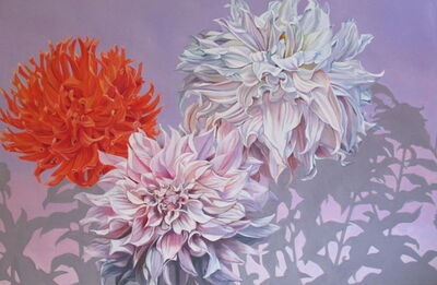 Mary Warner, 'Dancing Dahlias', 2015