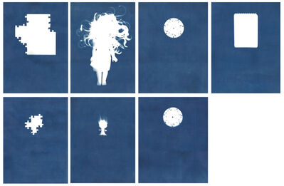 Sarah Irvin, 'Cyanotype Archive: Princesses', 2019