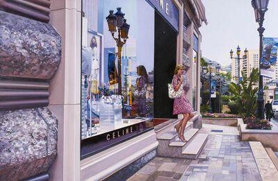Tom Blackwell, 'Exiting Celine. Monaco'