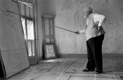 Cornell Capa, 'Matisse', 1949