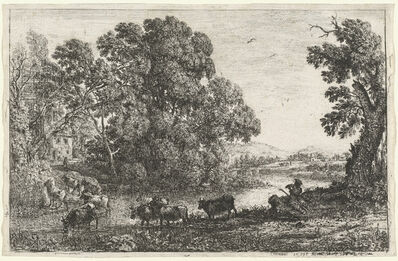 Claude Lorrain, 'The Cowherd (Le bouvier)', 1636