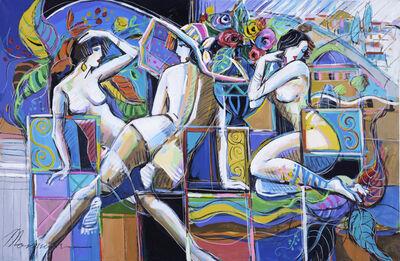 Isaac Maimon, 'Femmes En Couleurs', 2017