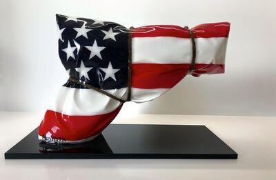 Helder Batista, 'Mini gun Flag USA', ca. 2014