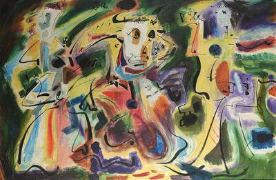 André Masson, 'Les Servantes de Pasiphae', 1961