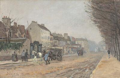 Alfred Sisley, 'Boulevard Héloïse, Argenteuil', 1872