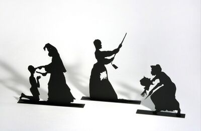 Kara Walker, 'The Bush; The Skinny; and De-boning', 2002
