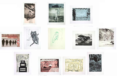 Peter Doig, 'Untitled, Suite of 12 Etchings', 2013