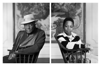 Dawoud Bey, 'The Birmingham Project: Fred Stewart II and Tyler Collins', 2012