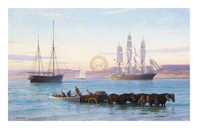 John Steven Dews, 'Sunrise, Spencer Gulf', 21st Century