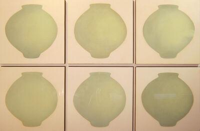Ik-Joong Kang, '6 Moon Jars', 2014