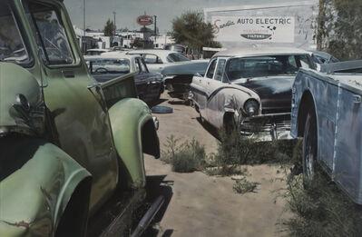 John Salt, 'Albuquerque Wreck Yard', 1972