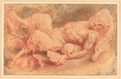 Peter Paul Rubens, 'Pan Reclining', possibly c. 1610