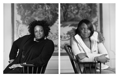 Dawoud Bey, 'The Birmingham Project: Maxine Adams and Amelia Maxwell', 2012