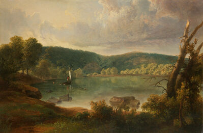 Thomas Doughty, 'On the Lake', 1829