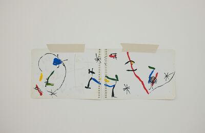 Mauro Piva, 'Homenagem – Teste de cores imaginario (Miró) ', 2017