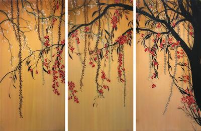 Ivy Jacobsen, 'Standing Still (triptych)', 2018