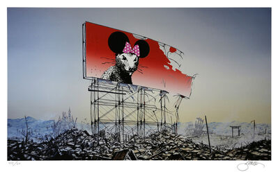Jeff Gillette, 'Banksy Minnie Nagasaki', 2016