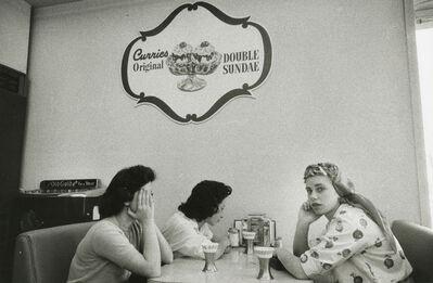 Robert Frank, 'Ice cream parlor in the San Fernando Valley, California', c.1955-56