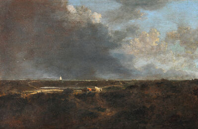 John Crome, 'A Heath Scene, near Norwich', 1788-1821