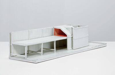 Siah Armajani, 'Thomas Jefferson's House: East Wing, Night House', 1976