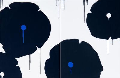 """Hamilton Aguiar, '""""Four Flowers""""', 2019"""
