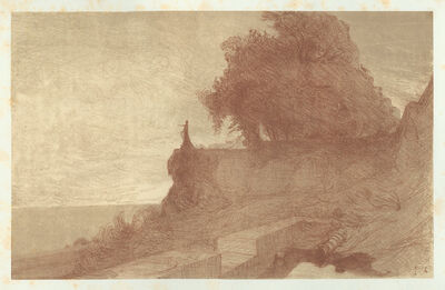 Charles-Marie DULAC, 'Paysage #4', 1892-1893