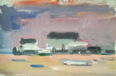 Paul Resika, 'Mauve Pier', 1995