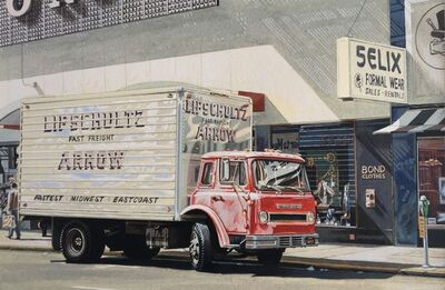Ralph Goings, 'Arrow Truck', 1972
