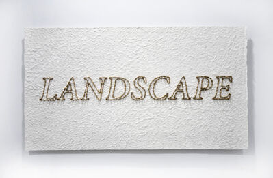 Xavi Muñoz, 'Landscape (Gold)', 2016