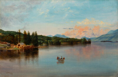 Nelson Augustus Moore, 'Lake George', 1867