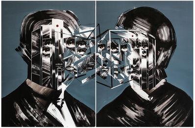 Bohdan Burenko, 'Untitled Diptych 2', 2015