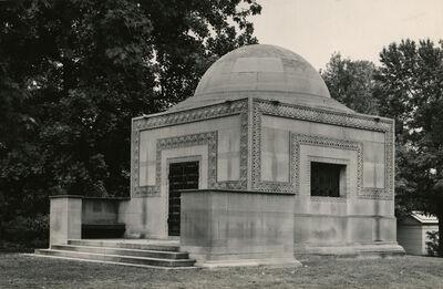 Aaron Siskind, 'Tomb by Louis Sullivan', ca. 1950