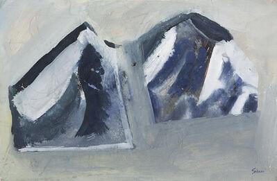 Mario Sironi, 'Montagne', 1945 circa