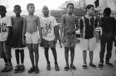 Henry Horenstein, 'Standing in Line, El Malecon, Cuba', 2000