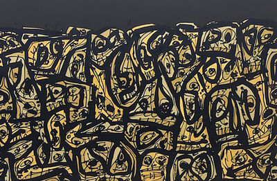 Antonio Saura, 'Foule', 1989