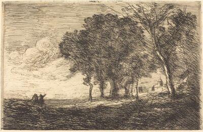 Jean-Baptiste-Camille Corot, 'Italian Landscape (Paysage d'Italie)', ca. 1865