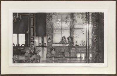 Peter Milton, 'Interiors I: Family Reunion ', 1984