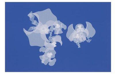 Alice Aycock, 'Wavy Enneper: White on Blue', 2011