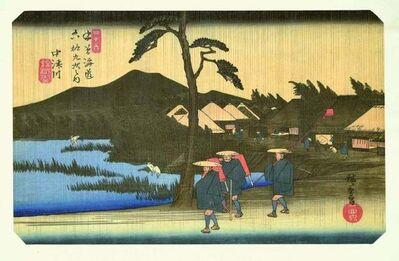 Utagawa Hiroshige (Andō Hiroshige), 'Nakatsugawa', 1834-1835
