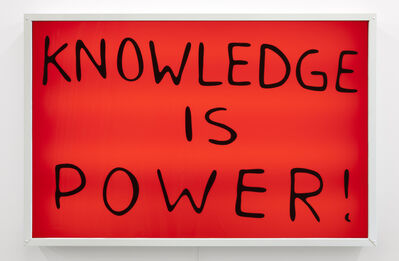 Sam Durant, 'Knowledge is Power', 2015