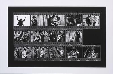 Richard E. Aaron, 'John Lee Hooker Film Roll on Hahnemuhle Paper', 1990-2009