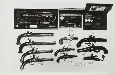 Andy Warhol, 'Gun Collection Photograph', .