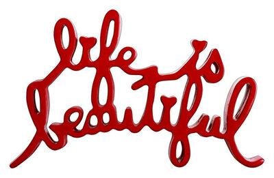 Mr. Brainwash, 'Life is Beautiful (Red)', 2020