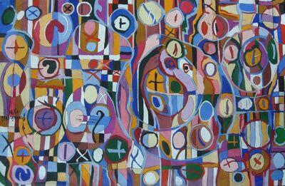 Sarah Frassinelli, 'P9', 1971
