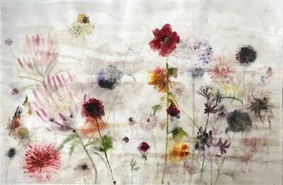 Lourdes Sanchez, 'Untitled (Gerberas, Protea, Mums)', 2019