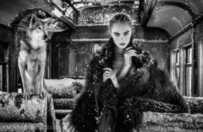 David Yarrow, 'The Girl on the Train', 2020